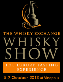 The Whisky Exchange Whisky Show, 5-7 October 2013 at Vinopolis