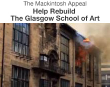 The Mackintosh Appeal, Help Rebuild The Glasgow School of Art
