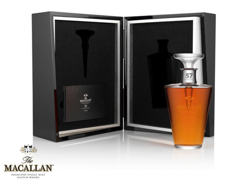 Macallan 57 Year Old Lalique