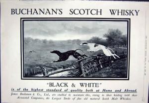 Buchanan's 1930's Illustrated London News Advert