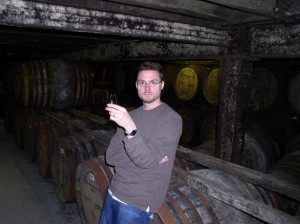Rich lost in the warehouses at Bowmore