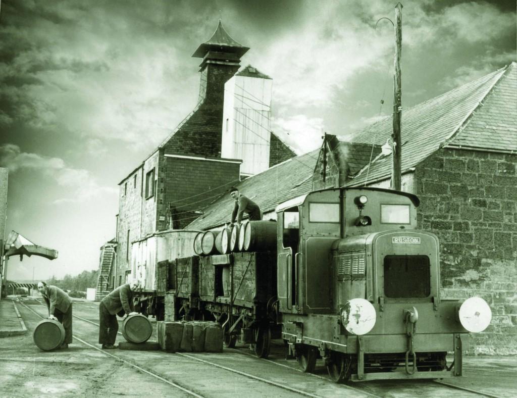 The BenRiach Train