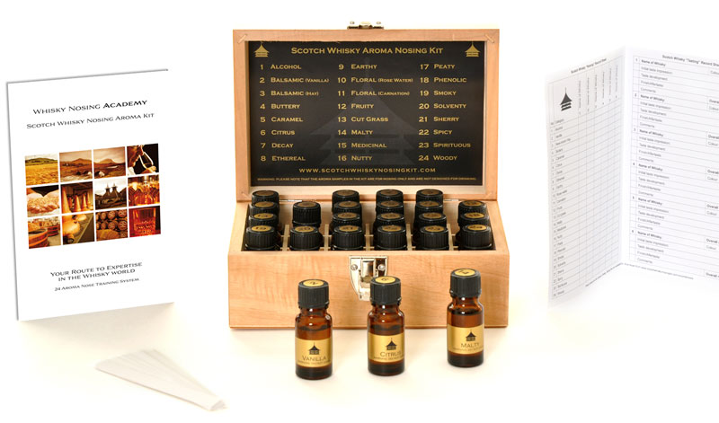 blog archive the scotch whisky nosing aroma kit from single malts. Black Bedroom Furniture Sets. Home Design Ideas