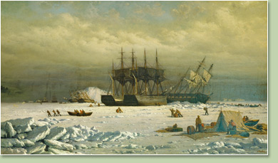 William Bradford The English Arctic Expedition in search of Sir John Franklin