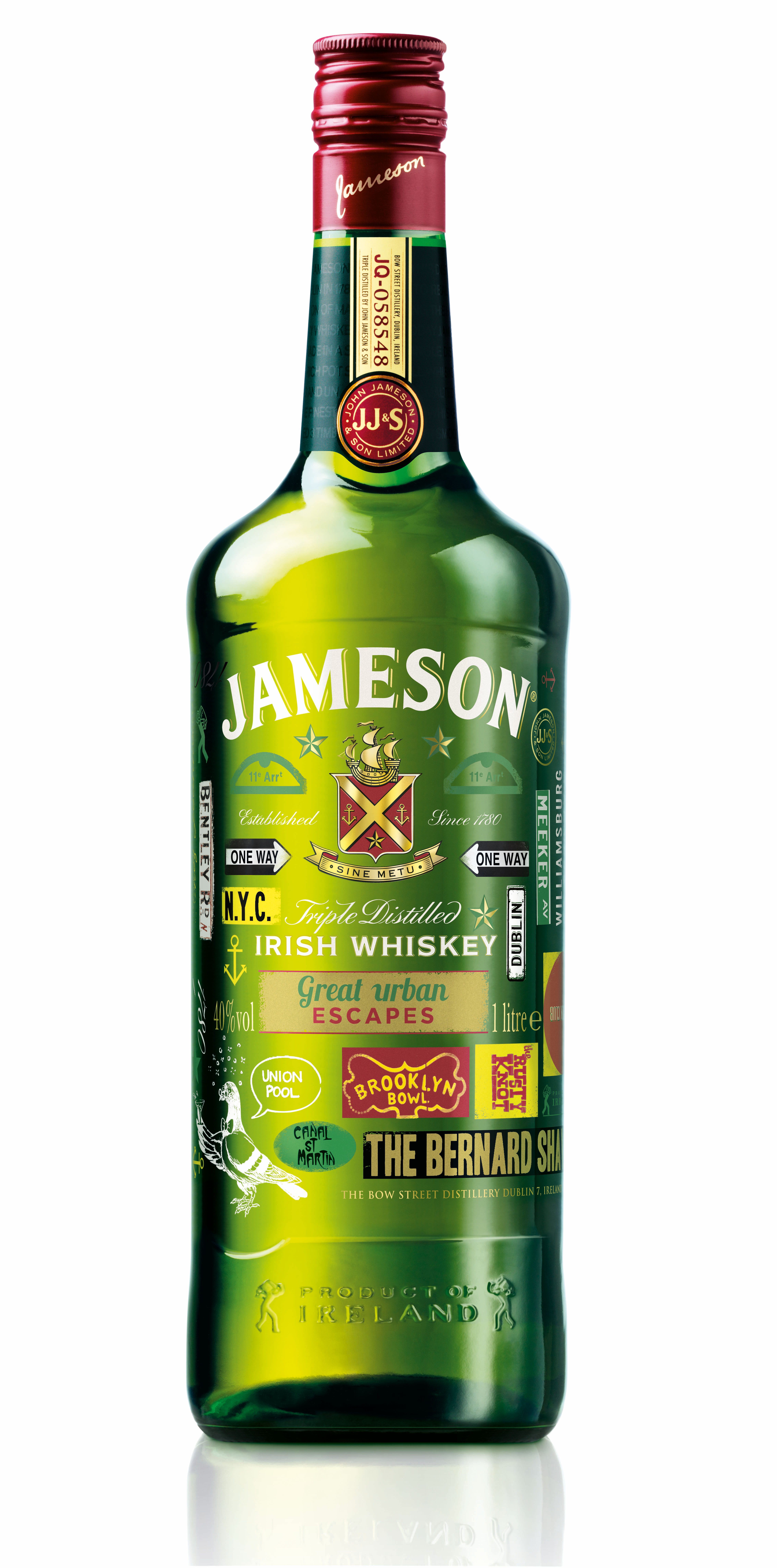 Image search  Jameson Irish WhiskeyJameson Irish Whiskey Bottle