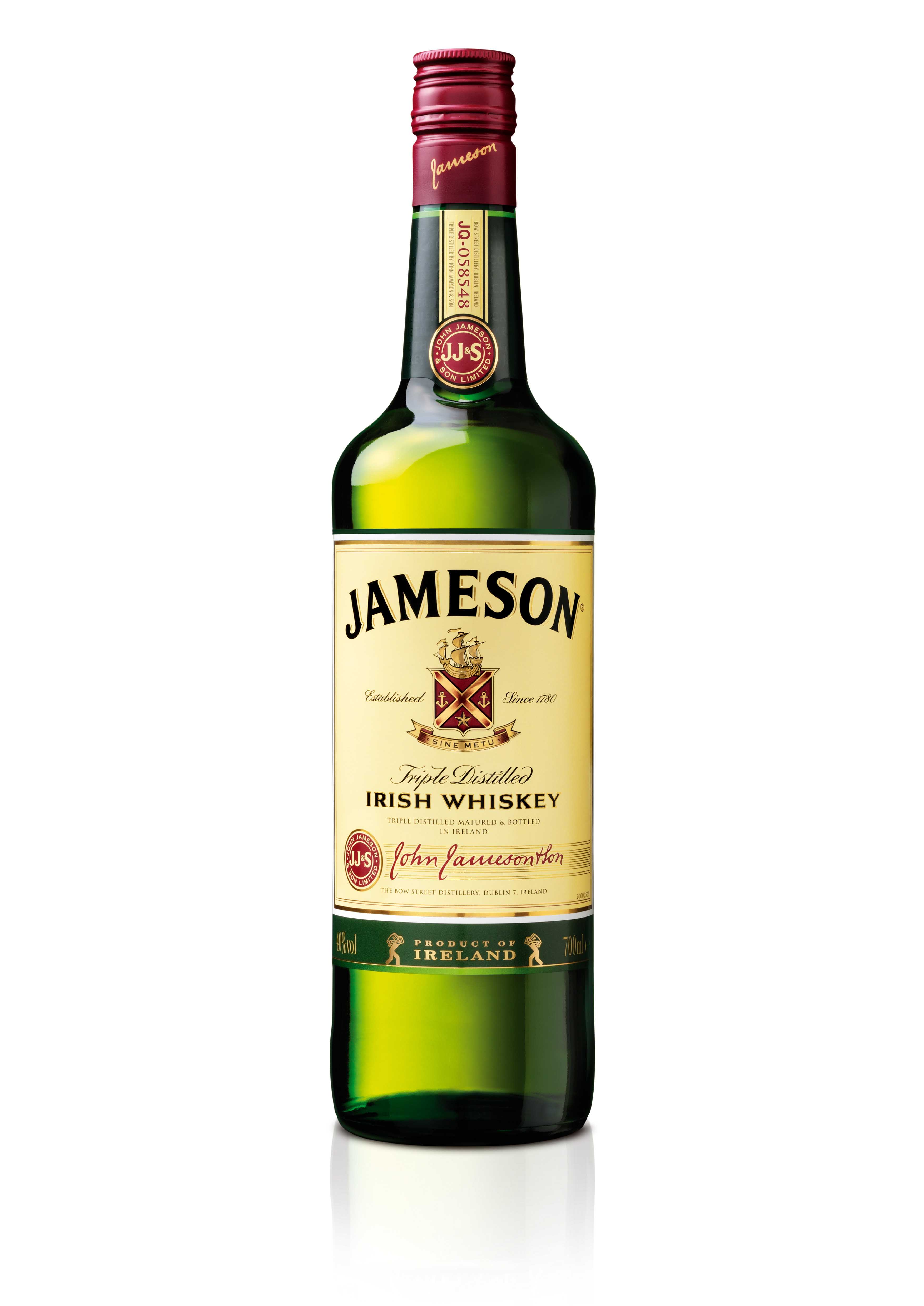 Jameson Bottle Shot - Hi ResJameson Irish Whiskey Bottle