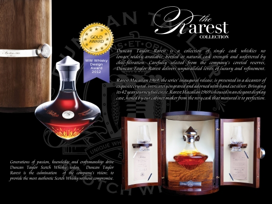 Blog Archive » Rarest Whisky by Duncan Taylor Wins Gold – Scotch Whisky News - whisky industry press releases, newsletters, events, tasting notes, bottlings and comments.