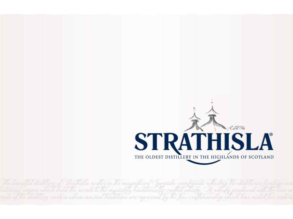 NEW LOOK FOR STRATHISLA 12 YEAR OLD - Good Whisky Tastings Belgium