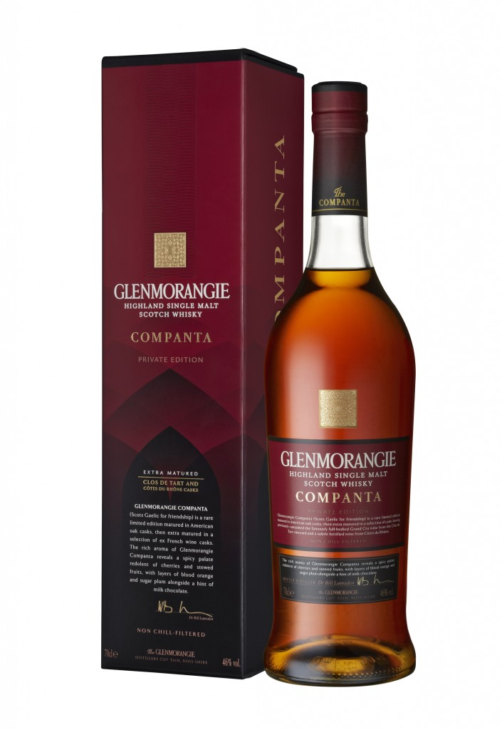 AA 3 Glenmorangie's new 'friendship' single malt Companta, the fifth annual release in its award-winning Private Edition range