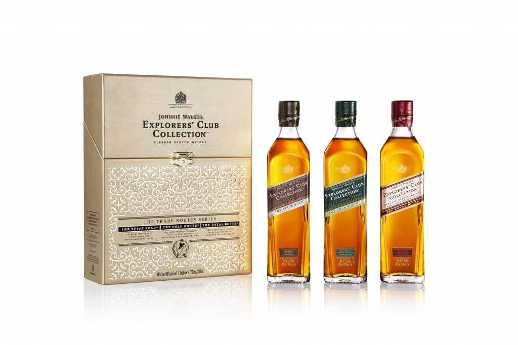 AA Johnnie Walker Explorers' Club Collection Pack Shot