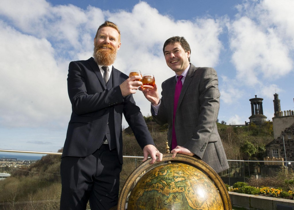 Jason Scott, Bramble bar & Dr Bill Lumsden, Glenmorangie ask whisky fans to chose location for Cask Masters crowd-managed whisky Taghta