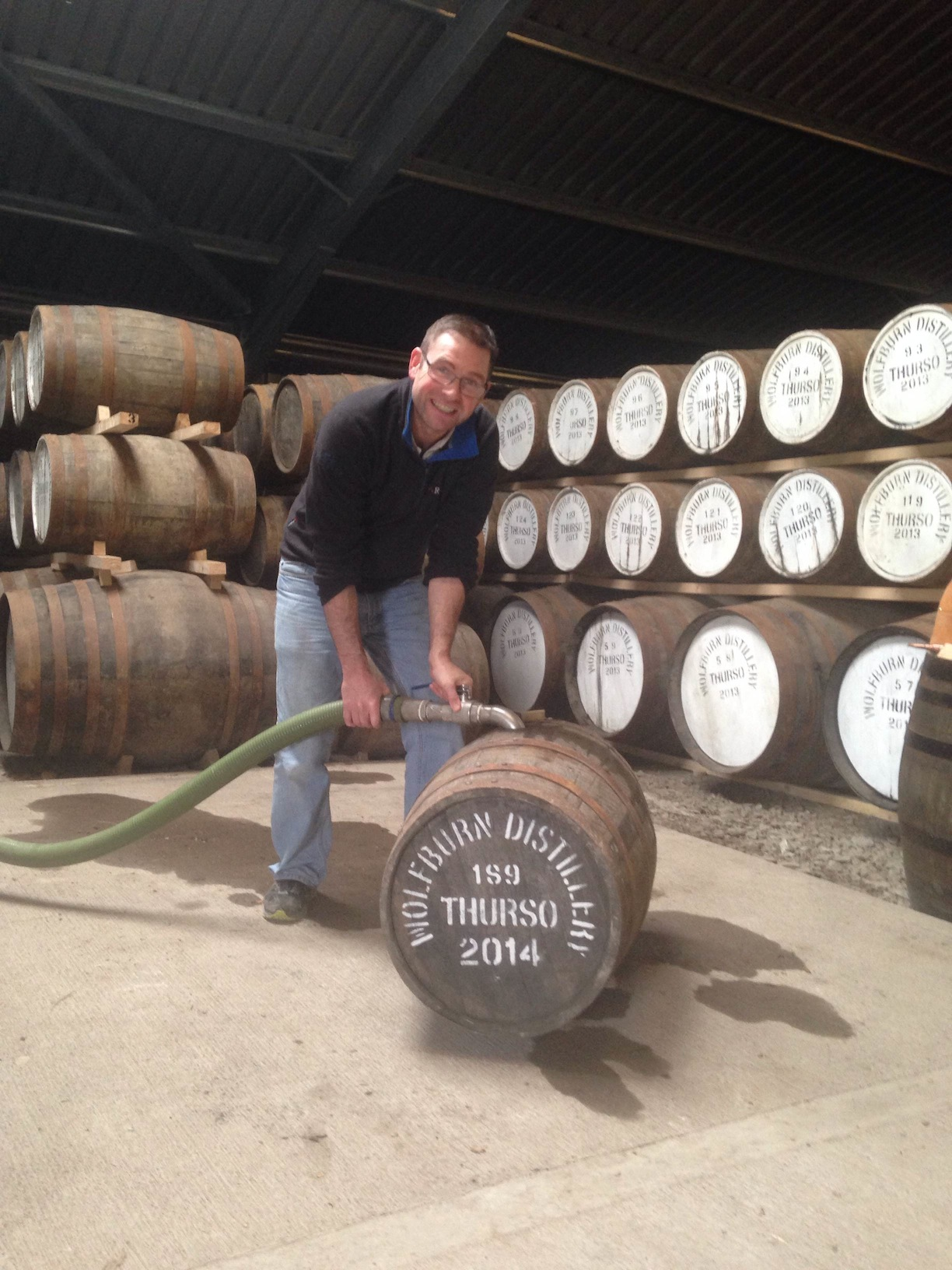 Blog Archive » Wolfburn Distillery Fills Its 1,000th Cask – Scotch Whisky News - whisky industry press releases, newsletters, events, tasting notes, bottlings and comments.