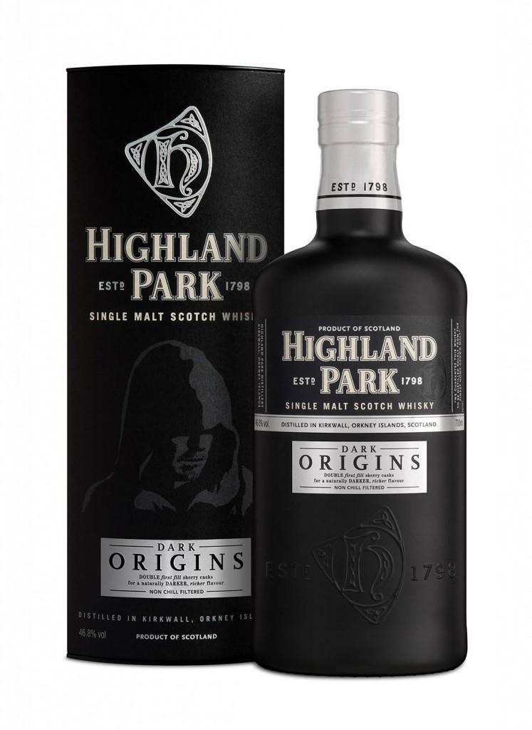 Highland Park Dark Origins Bottle and Carton LR