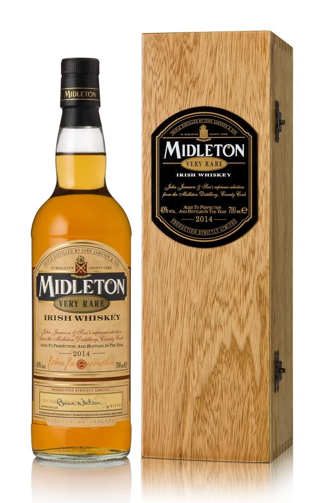 Midleton Very Rare 2013 Bottle & SBC