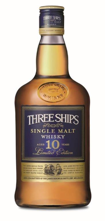 Three Ships 10-Year-Old Single Malt (LR)
