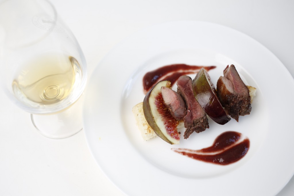 SMWS grouse-roasted-and-pureed-figs-toasted-brioche