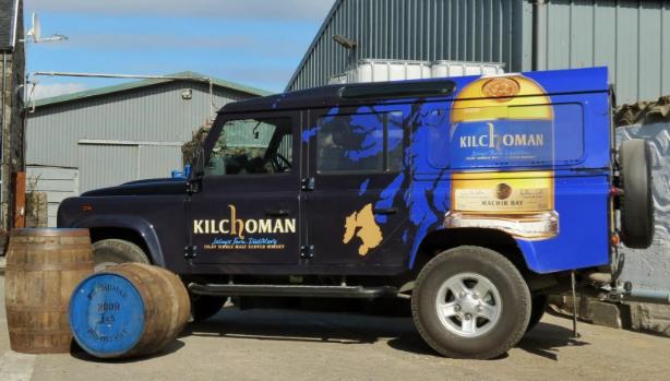 AA Kilchoman Land Rover