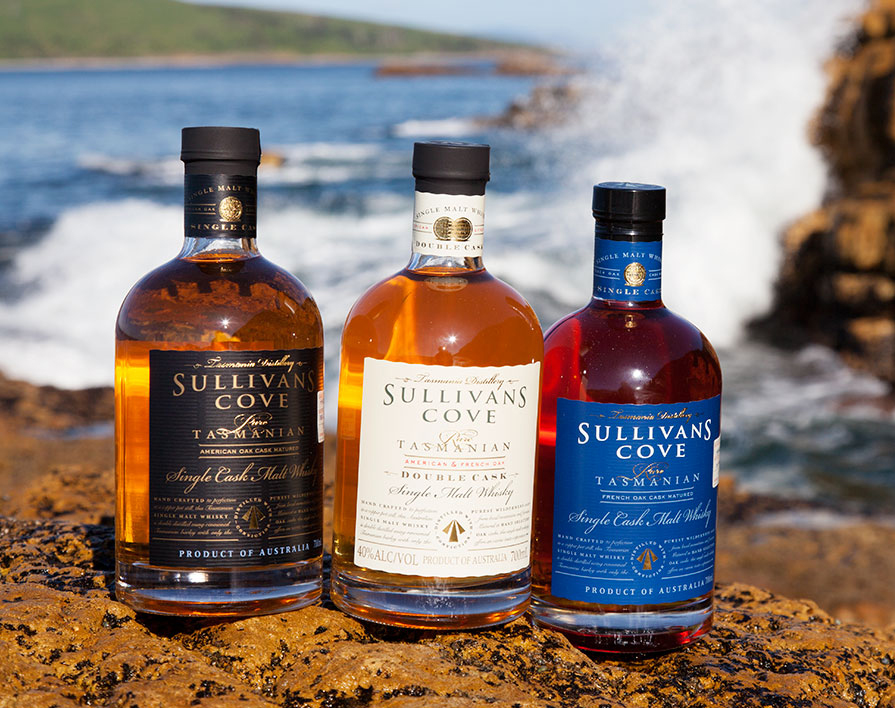 "australian whisky industry In the 1990's within the apple shaped island of tasmania, the modern australian whisky industry was being born the australian whisky industry, led by bill lark (known as the ""godfather"" of australian whisky), refused to follow the tasmanian tiger to extinction."