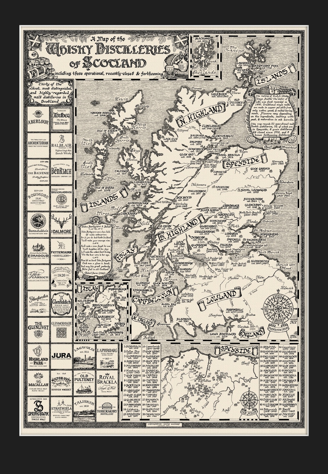 WhiskyIntelligence.com » Blog Archive » The New Map of the ... on scotland castles map, scotland lochs map, scotland golf map, scotland hostels map, scotland agriculture map, scotland airports map, scotland attractions map, scotland whisky regions map, scotland mountains map, scotland ferries map,