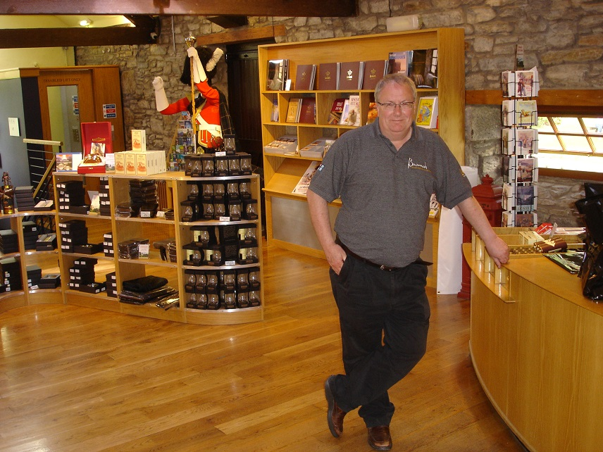 AA paul in whisky area