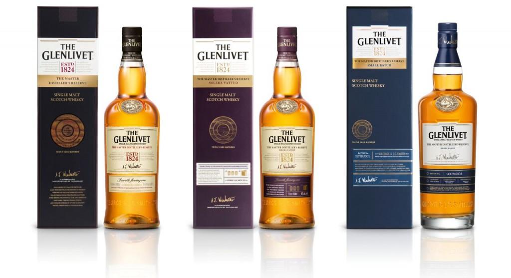 AA Glenlivet Master Distiller Range