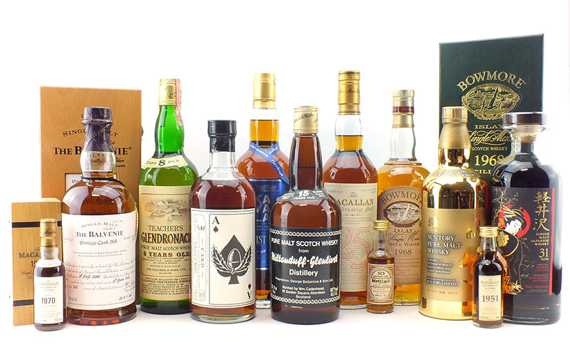 As Well Award Winning Whiskies From Asia Of Course We Have A Huge Array Bottles Right Here In Scotland Ve Highlighted Few Interesting Lots