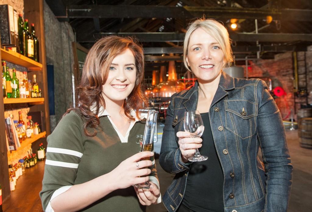 Irish Distillers CEO Anna Malmhake and Graduate Disitller Karen Cotter 1