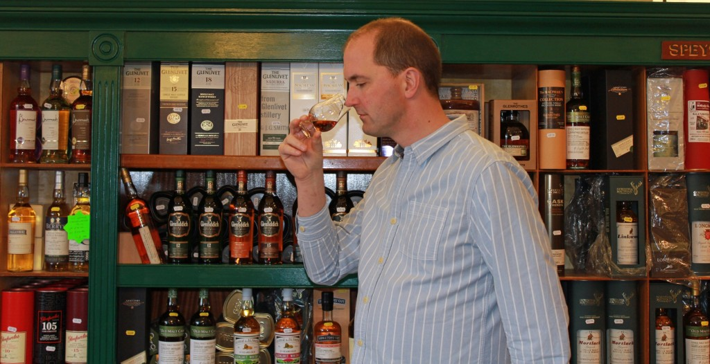 AA Whisky Shop Dufftown Mike Lord