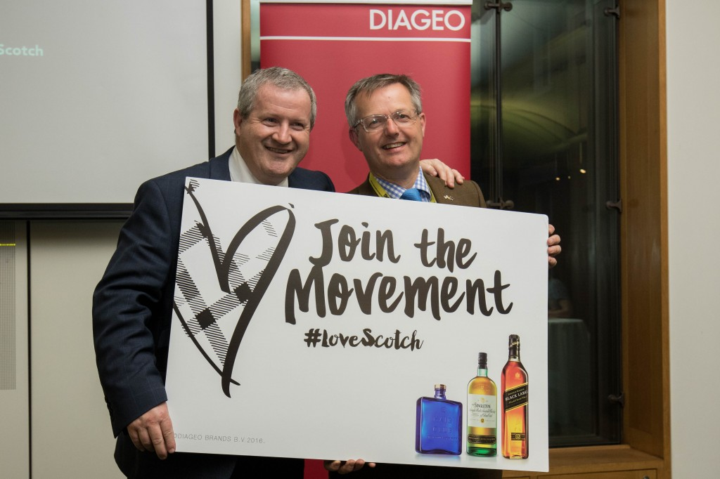The Diageo Grain to Glass reception in the Attlee Room in Portcullis House, Palace of Westminster.
