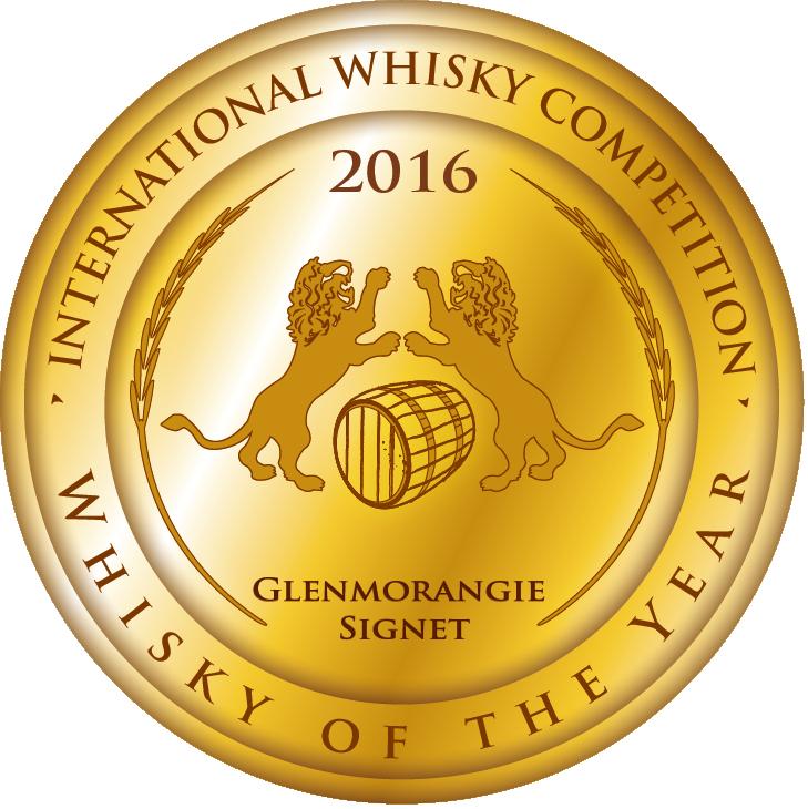 Whisky of the Year - Glenmorangie Signet (GOLD)