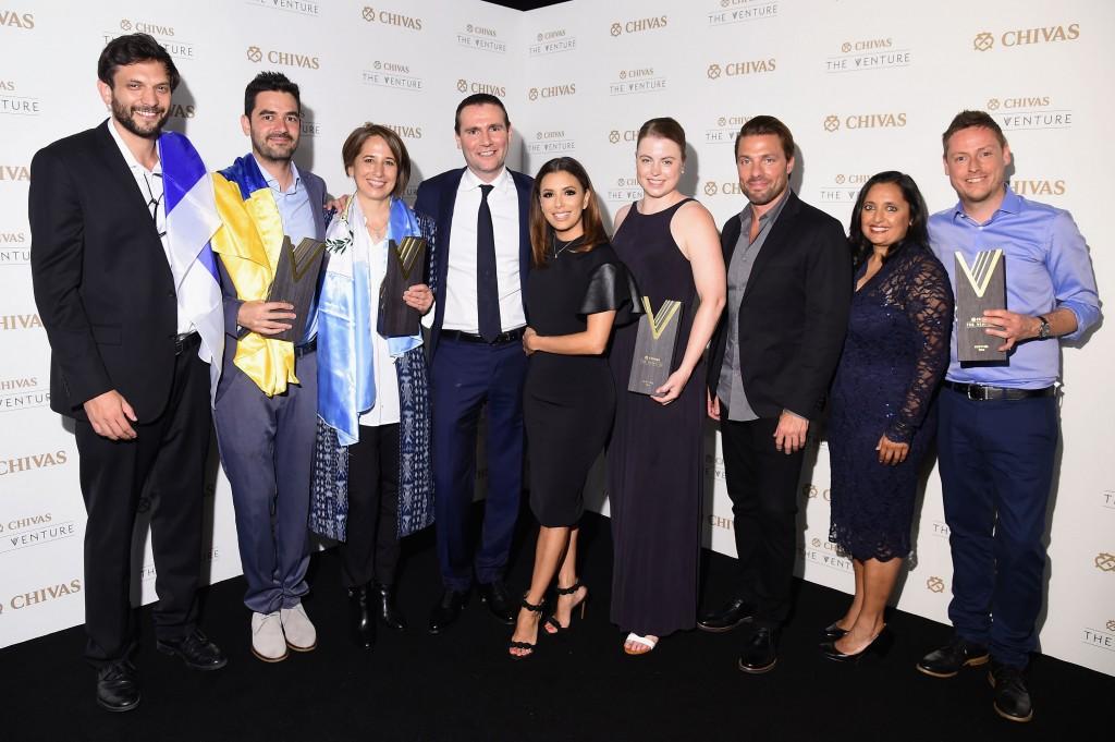 Eva Longoria and Trevor Noah announce winners of Chivas' The Venture $1m Fund