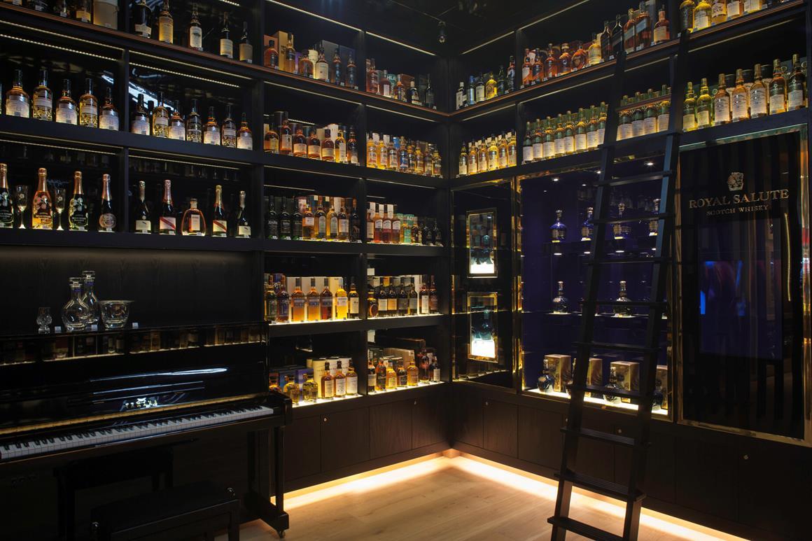 Liquor Bar Interior Design