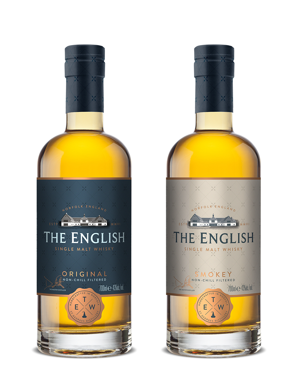 The English Whisky Co 2010 7 year old Whisky - Chapter 16 Smokey PX Cask