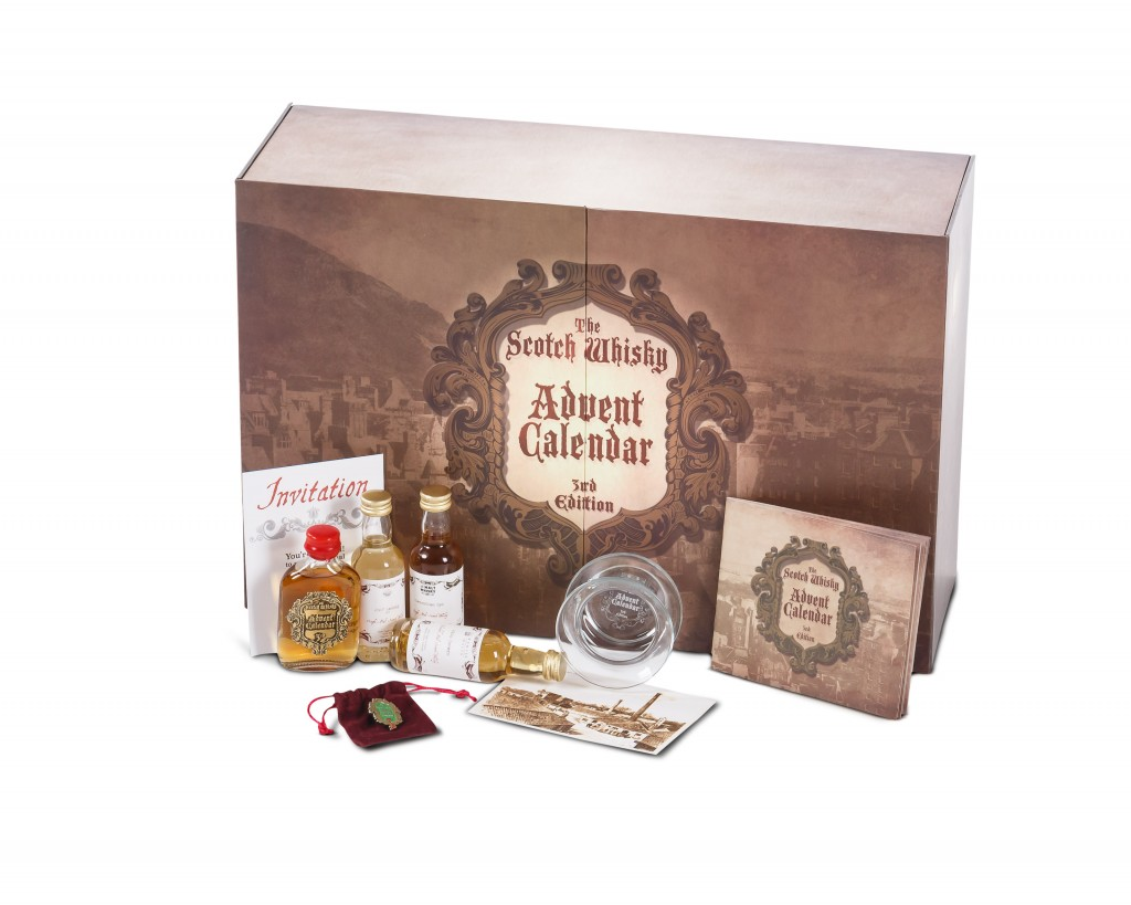Product Photography - Scotch Whisky Advent Calendar