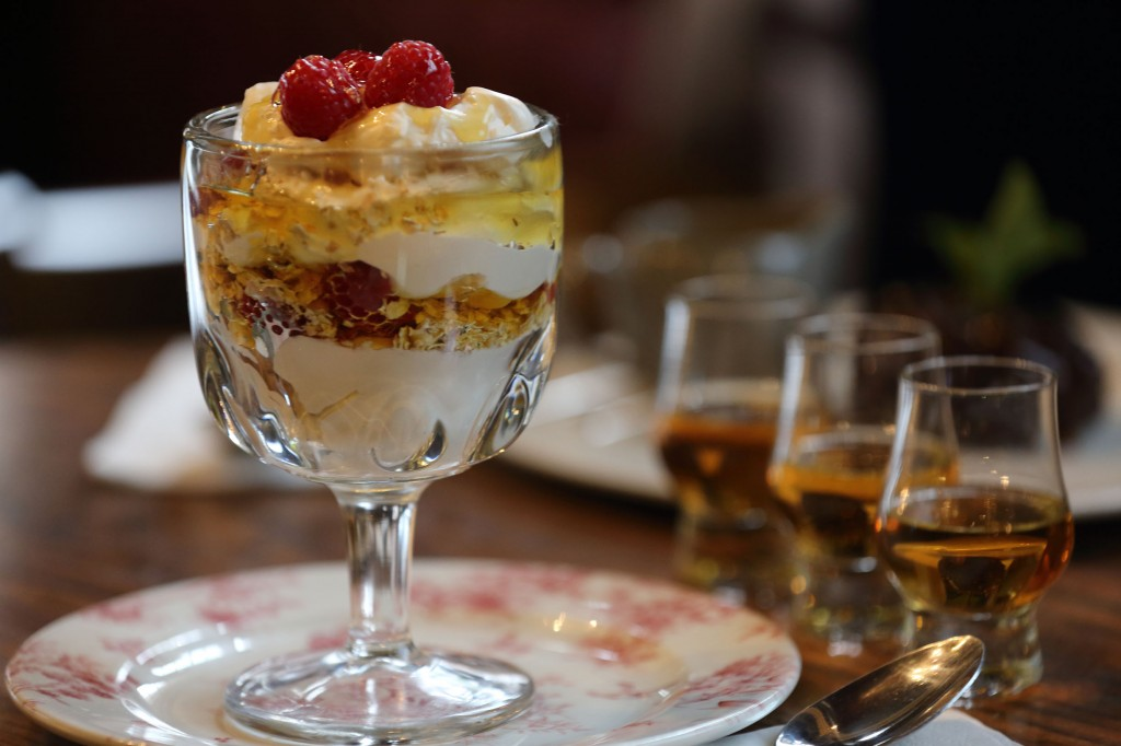 Nicholson's Burns Night Menu - Cranachan
