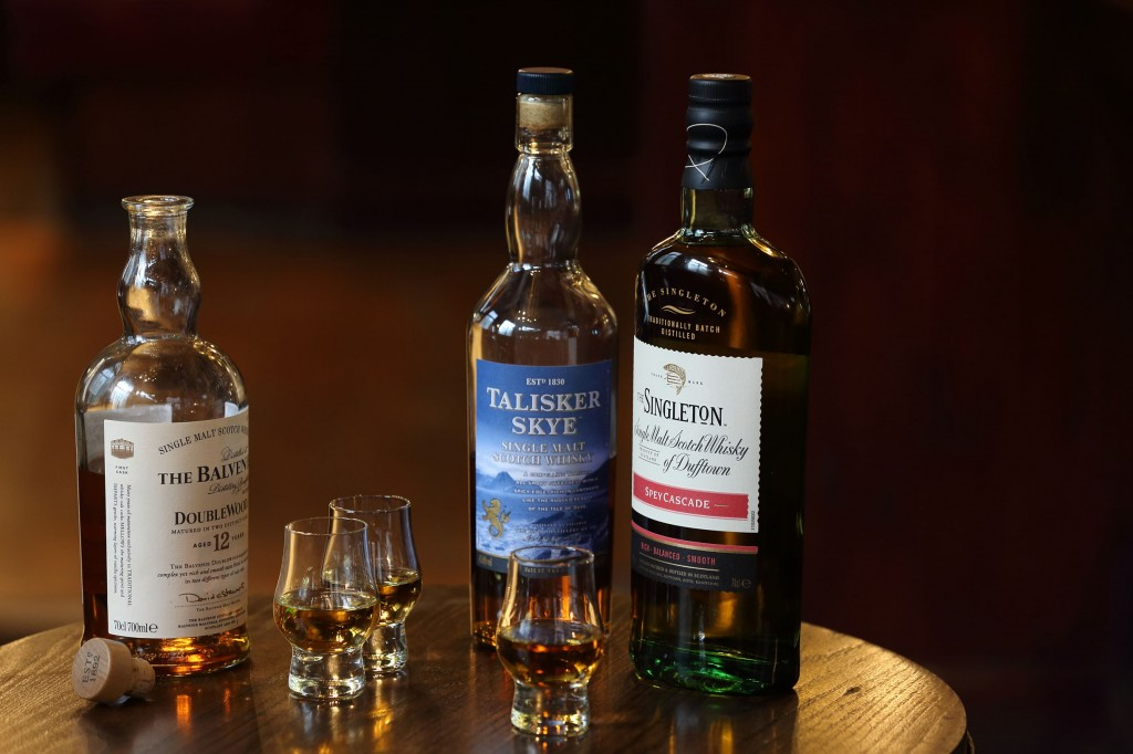 Nicholson's Whisky Showcase - Whisky Flight