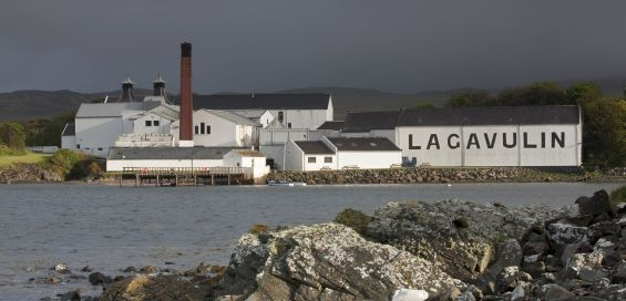 The 12-year-old Lagavulin we tasted was wonderfully smoky and oily