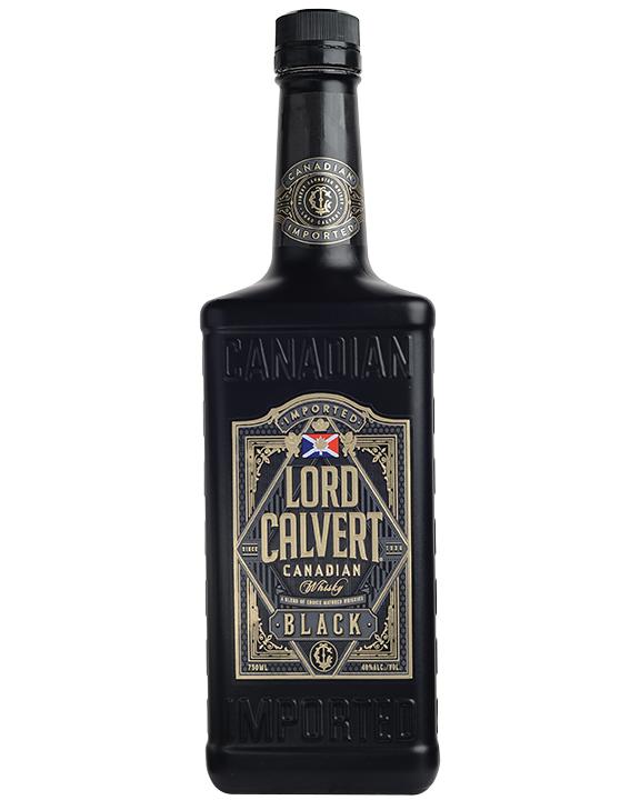 58766 LORD CALVERT BLACK 80 PROOF 750ML 12-IN