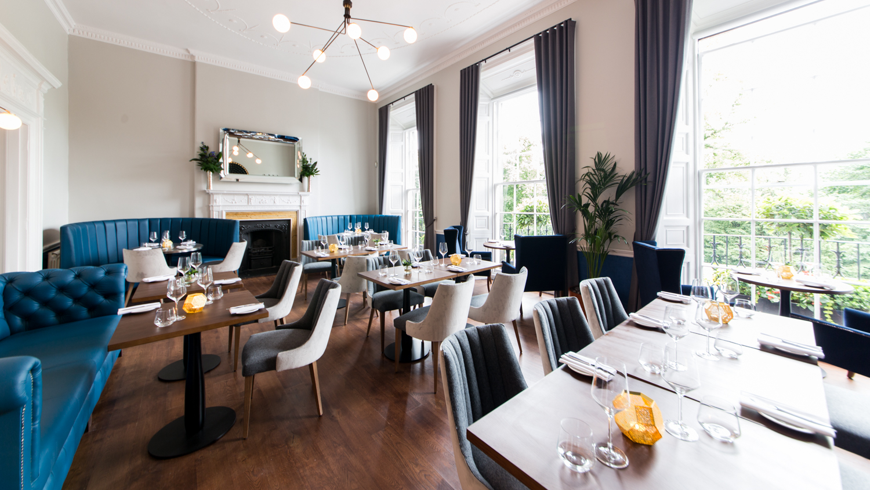 Dining Room At The Scotch Malt Whisky Society Edinburgh