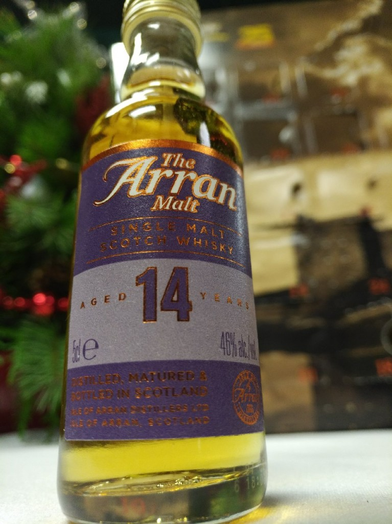 Kwm Whisky Advent 2017 Day 19 Isle Of Arran 14 Year
