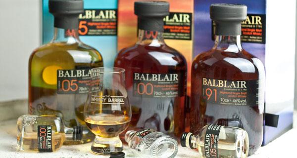 Balblair Vintage scotch whisky