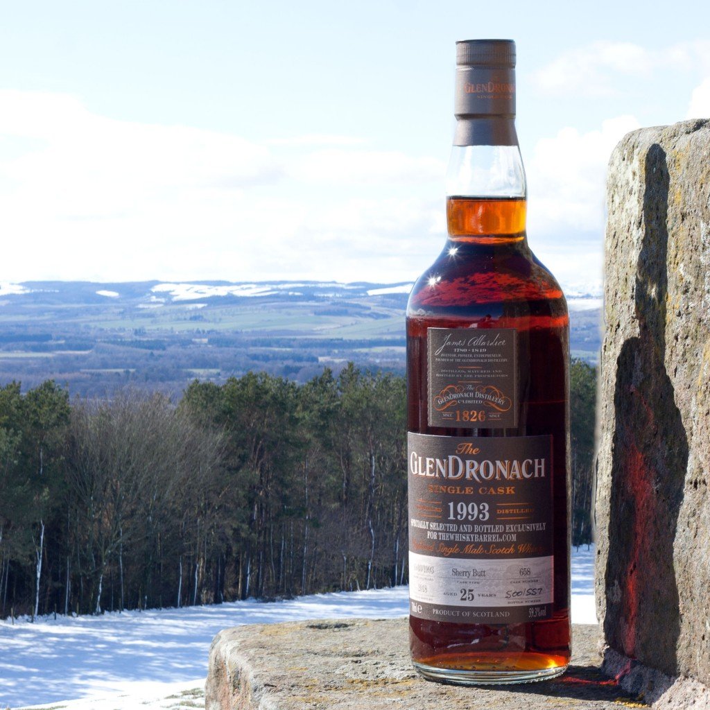 Glendronach 25 year old 1993 exclusive bottle
