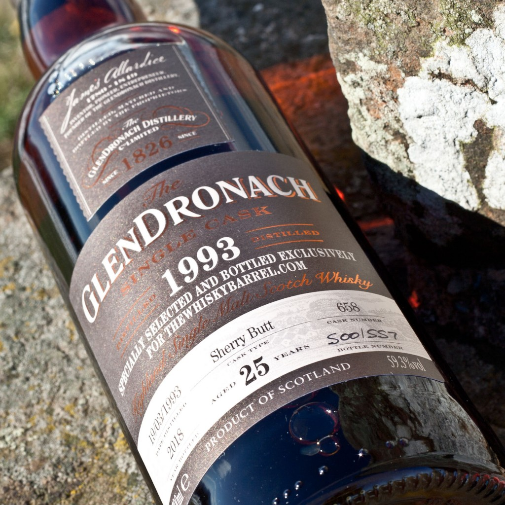 Glendronach 25 year old 1993 exclusive feature