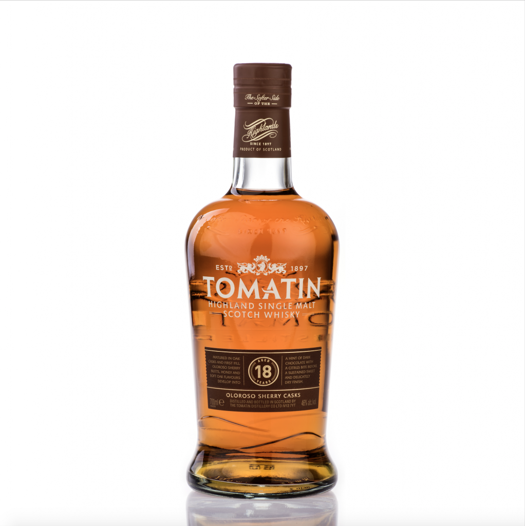 Tomatin 18 Y - bottle_Lores