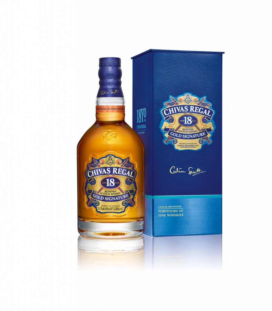 New Chivas 18 Bottle + Box Image