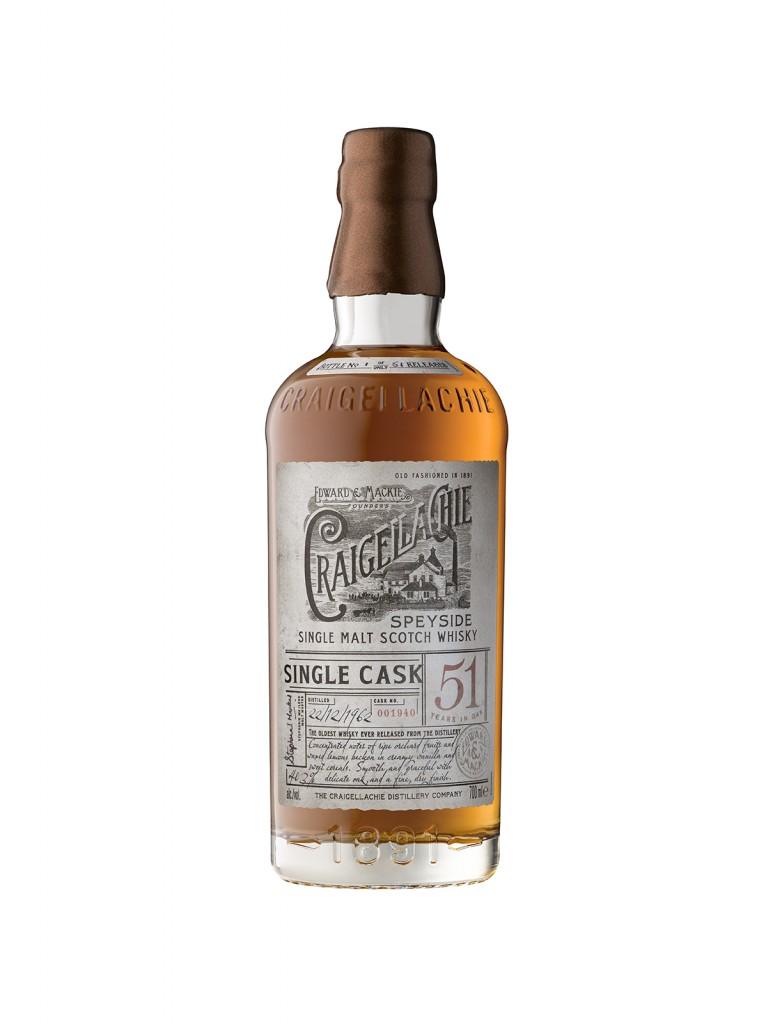 Craigellachie 51 (Bottle) ON WHITE