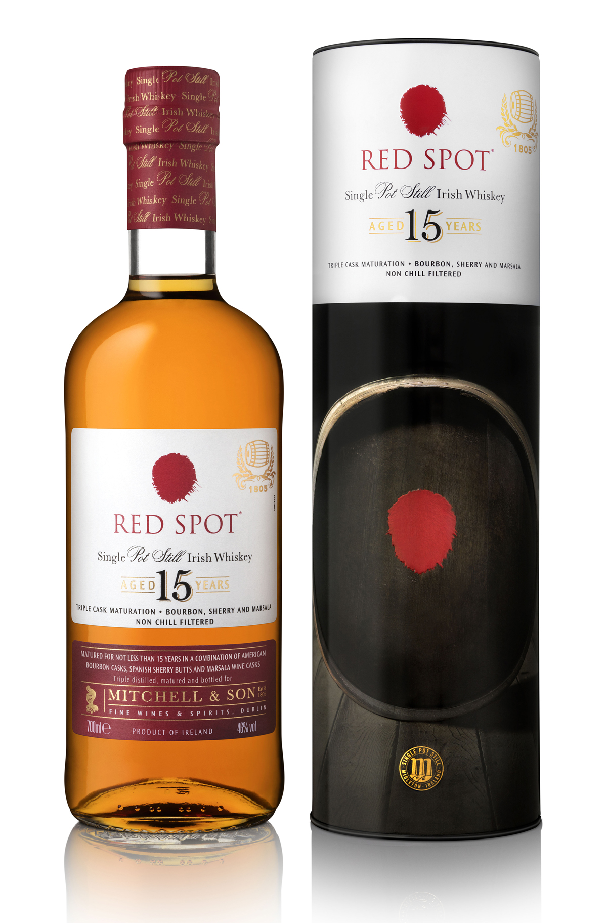 Dublin Whiskey Bonding Tradition Is Honoured With New Red Spot Irish Launch News