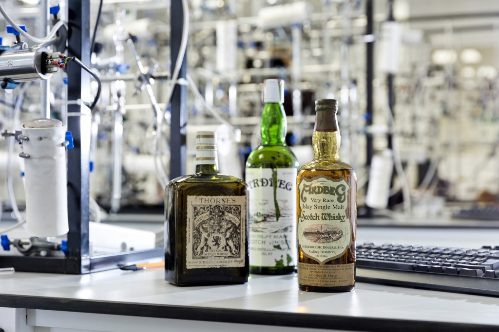 3 - Three rare botles of single malt proven to be fakes
