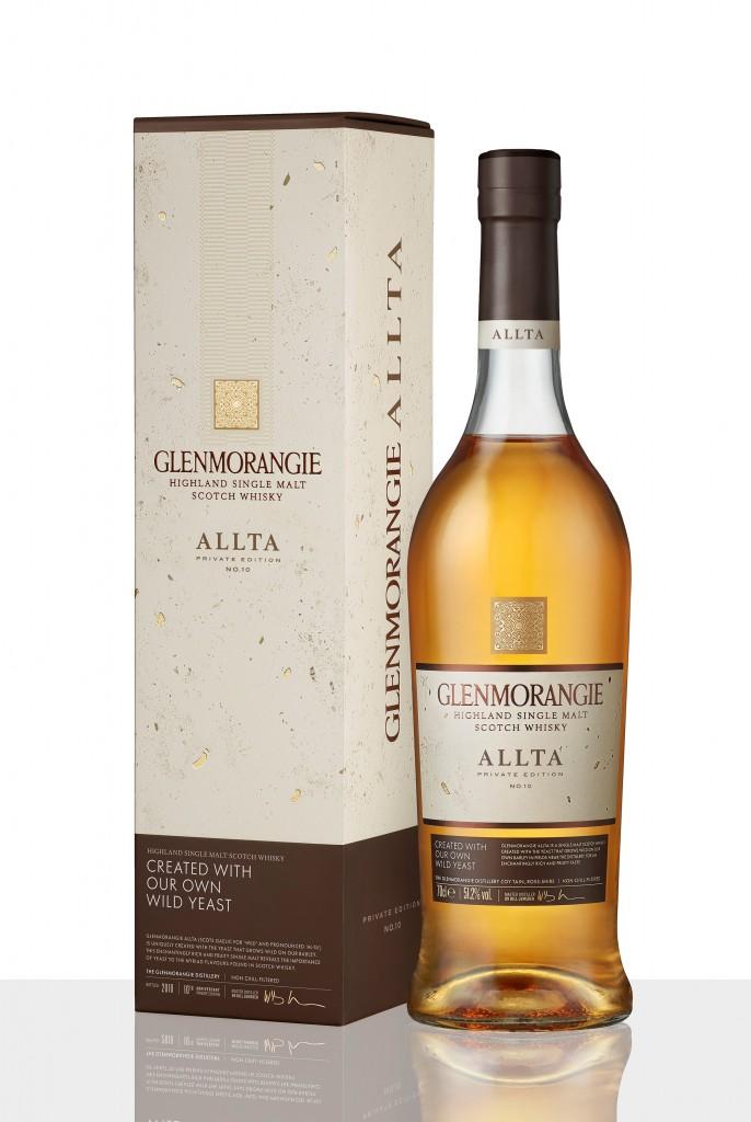 Allta bottle & box on white