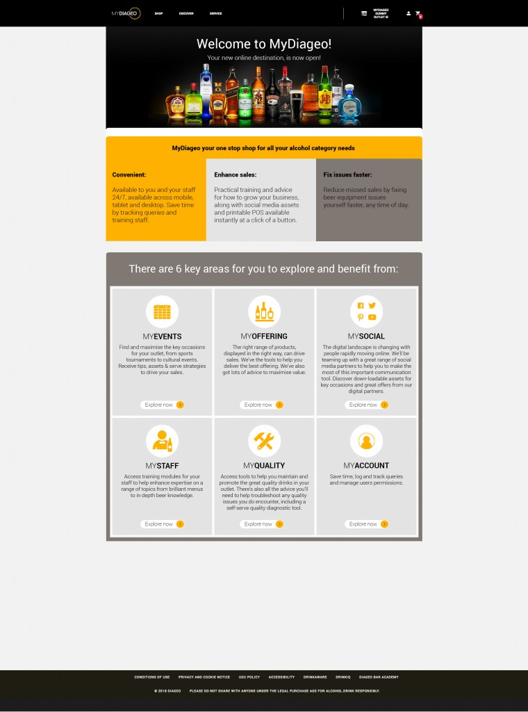 Diageo launches 'MyDiageo' to help outlets optimise their offerings_001